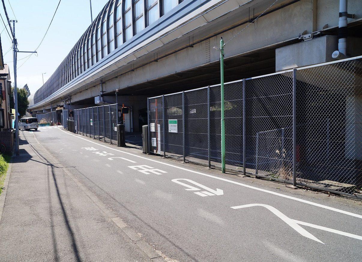 京葉道路 園生駐車場