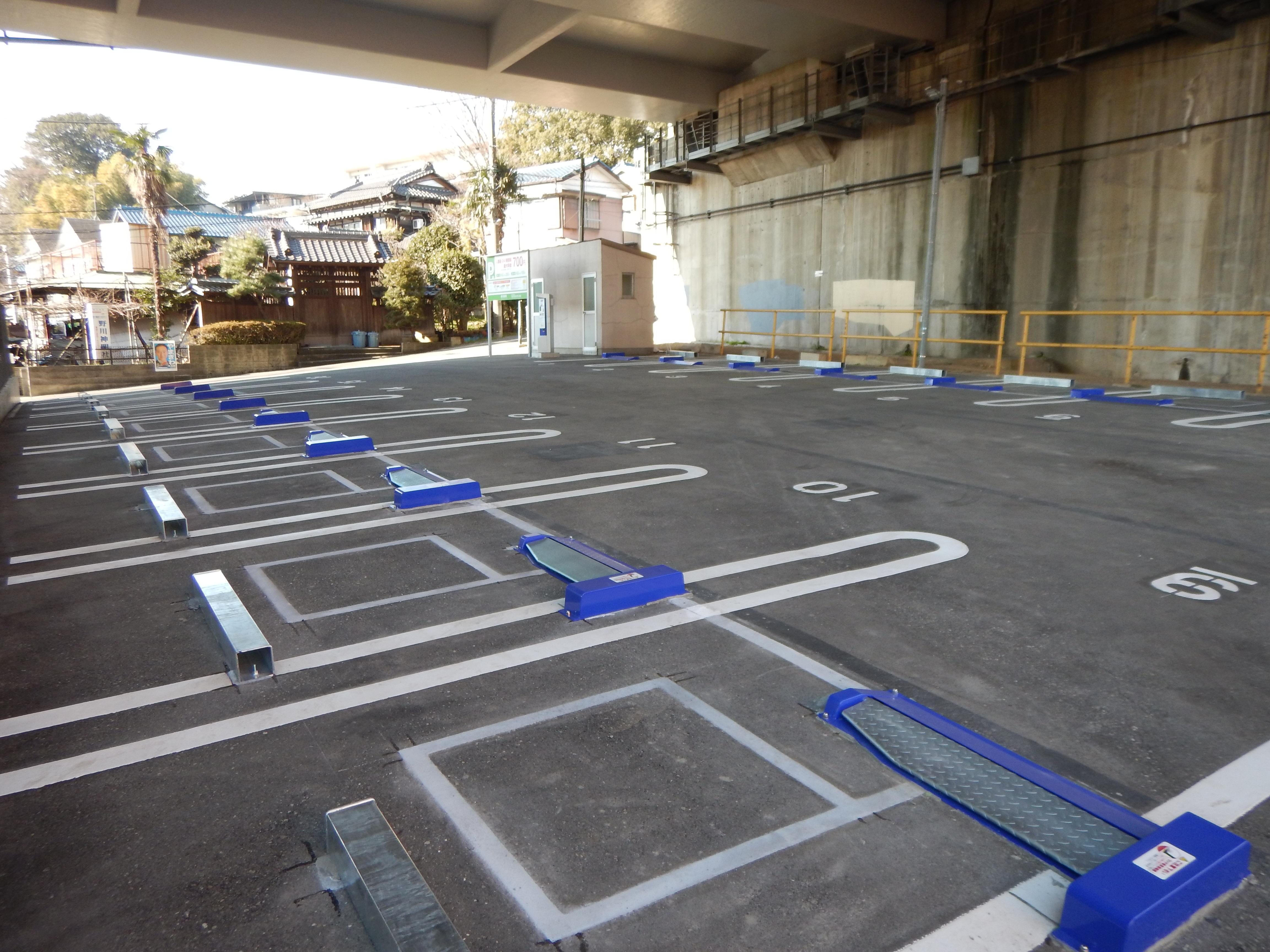 第三京浜道路 野川駐車場